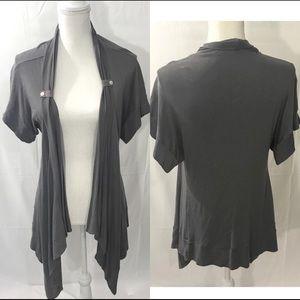 Gray splendid cardigan size medium